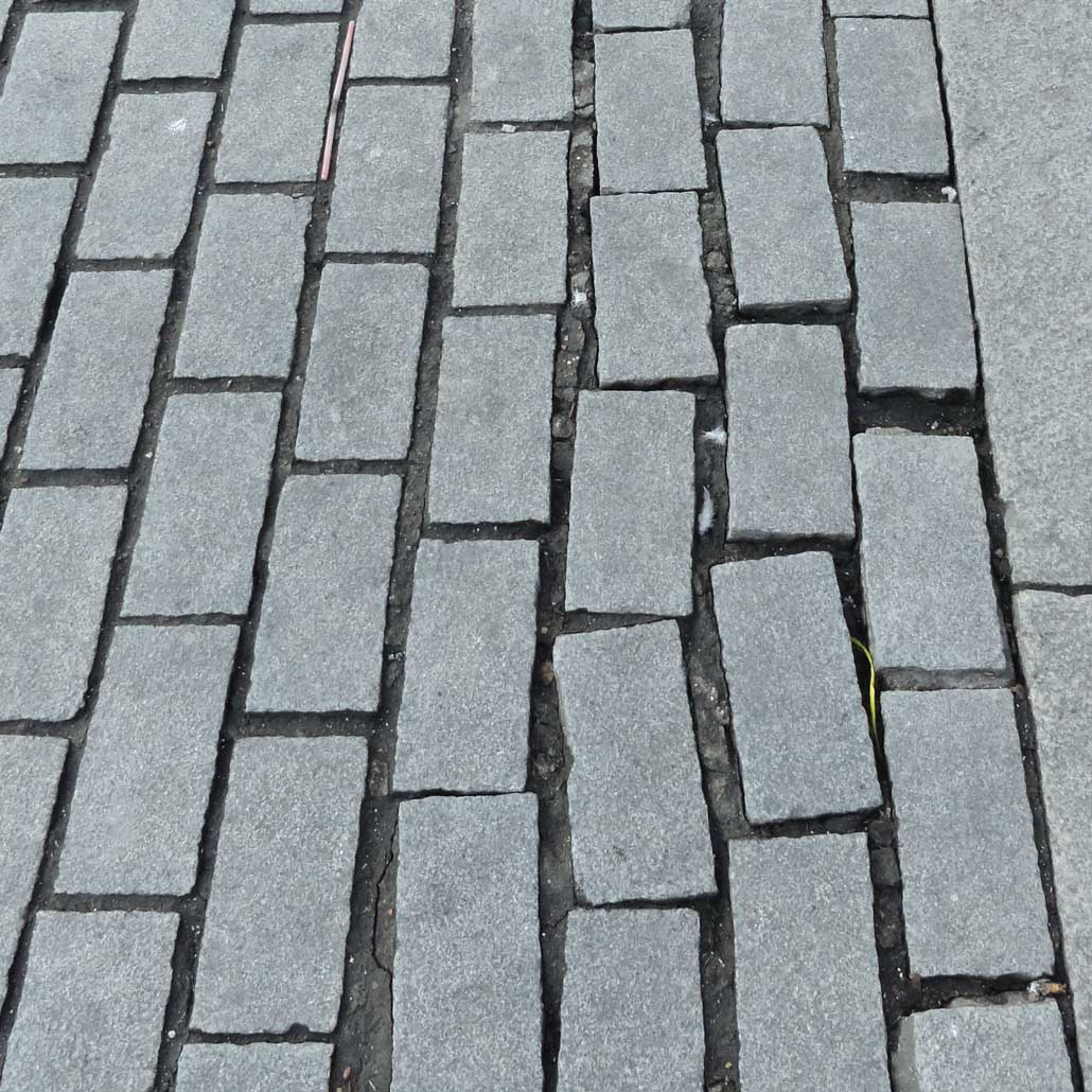 Paving problems London