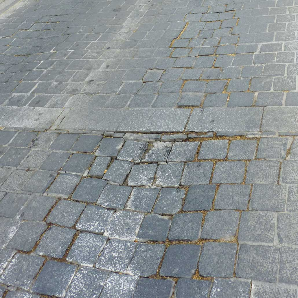 Paving problems Madrid